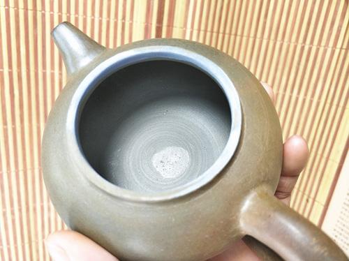坭兴陶柴烧壶光身壶原包浆不打磨
